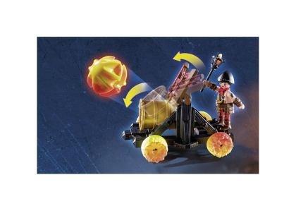 Playmobil-Banditi Burnham si catapulta lava,8ani+