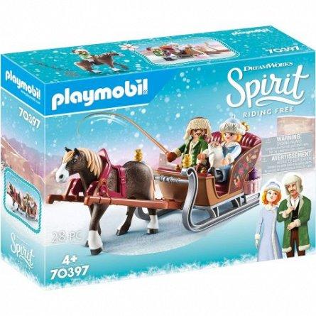Playmobil-Spirit III,Plimbare cu sania,4ani+