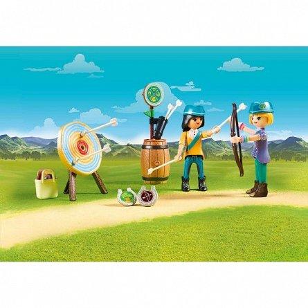 Playmobil-Caluti si lectii de tras cu arcul,4ani+