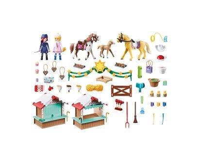 Playmobil-Spirit III,Targ de Craciun,4ani+