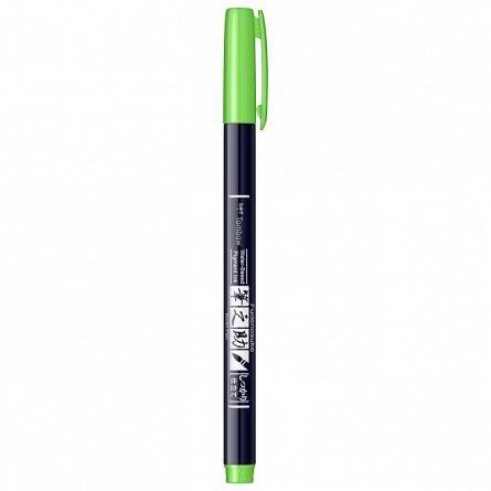 Marker Fudenosuke Hard Small Writing,Neon Green