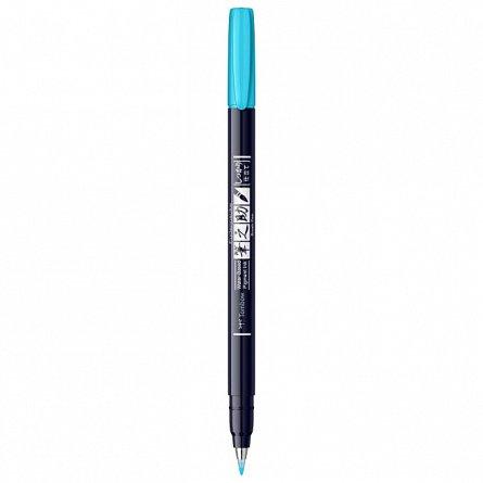 Marker Fudenosuke Hard Small Writing,Neon Blue