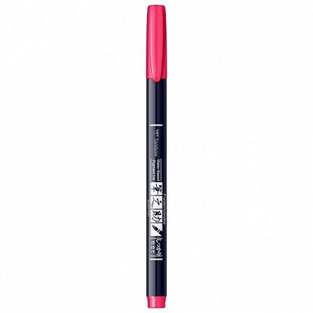 Marker Fudenosuke Hard Small Writing,Pink
