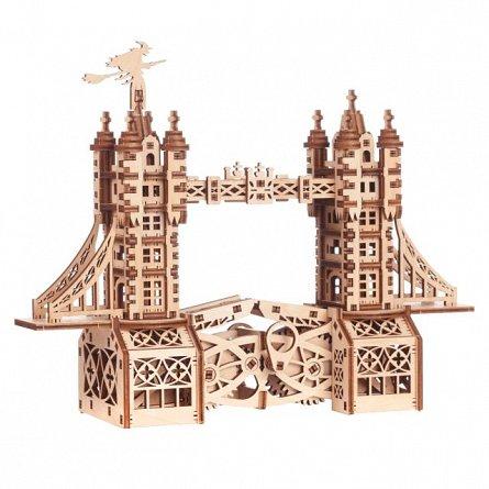 Puzzle mecanic,Mini-Pod turn,lemn,8ani+