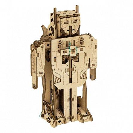 Puzzle mecanic,Transformer Robot-avion,lemn,8ani+