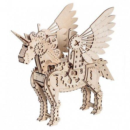 Puzzle mecanic,Unicorn,lemn,8ani+