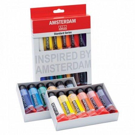 Tub culori acrilice,Amsterdam,20ml,6buc/set