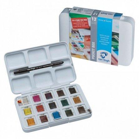 Acuarele,Van Gogh,Pocket Box,15culori/set