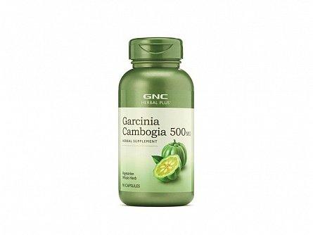 Supliment alimentar, GNC Herbal Plus Garcinia Cambogia 500 mg, 90cps