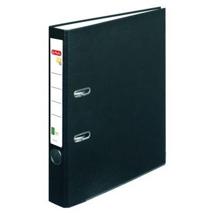 Biblioraft A4, 50 mm, Herlitz, FSC One File, negru