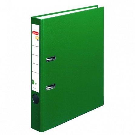 Biblioraft A4, 50 mm, Herlitz, FSC One File, verde