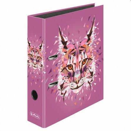 Biblioraft A4, 80 mm, Herlitz,  Wild Animals lynx