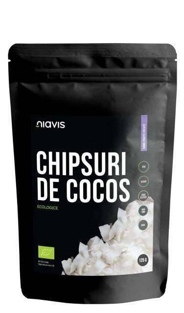 Chipsuri de Cocos Ecologice/BIO, 125g