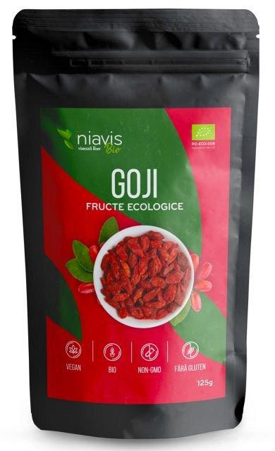 Fructe de Goji Ecologice/BIO, 125g