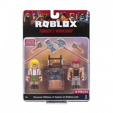 Figurina Roblox,Forgers workshop,2 figurine,S4,6ani+