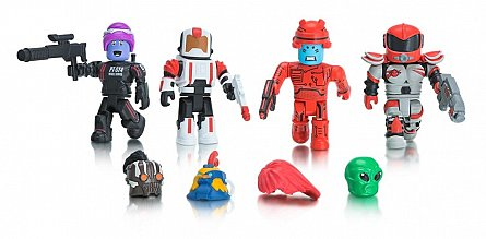Figurina Roblox,Star commandos,blister 4 figurine interschimbabile,6ani+