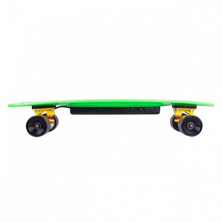 Longboard Worker, electric, Smurthrider, galben/verde
