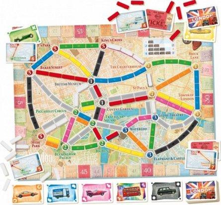 Joc Ticket to ride Londra, 8ani+