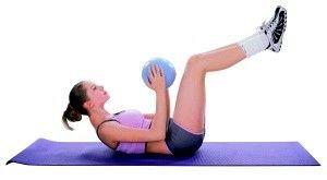 Minge aerobic, inSPORTline, 25cm
