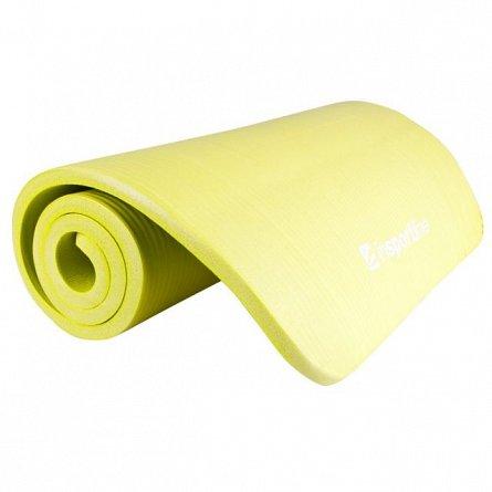 Saltea aerobic, inSPORTline, Fity, galben, 140x61cm