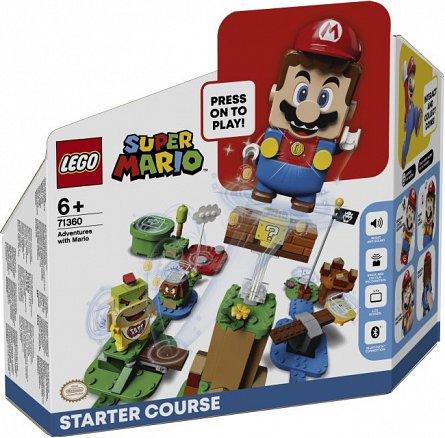 LEGO Super Mario - Aventurile lui Mario - set de baza 71360