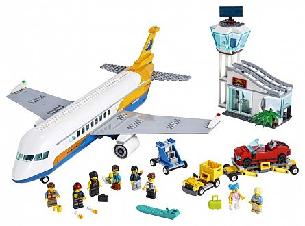 LEGO City - Avion de pasageri 60262
