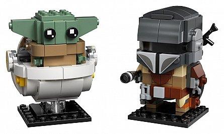 LEGO Star Wars - Mandalorian si Copilul 75317