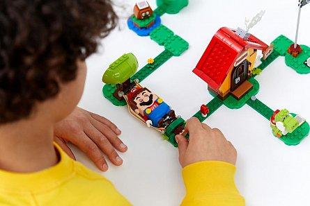 LEGO Super Mario - Set de extindere Casa lui Mario si Yoshi 71367