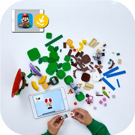 LEGO Super Mario - Set de extindere Toad 71368