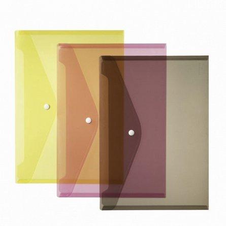 Mapa plastic, A4, capsa, Herlitz, div.culori