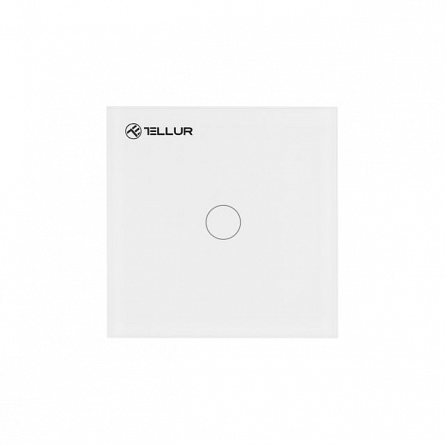 Intrerupator smart Tellur WiFi, 1 port Touch, 1800W, 10A