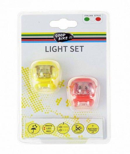 Kit lampa fata/spate , Silicon Led