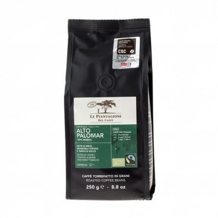 Cafea Alto Palomar, boabe, Fair Trade Organic, Arabica, 250g Peru