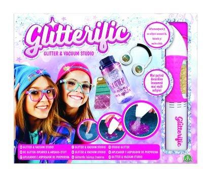 Glitterific,set de aplicare si aspirare glitter