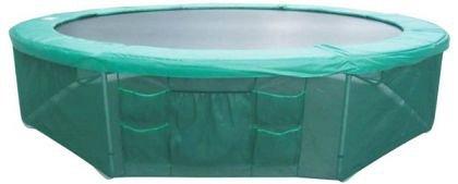 Protectie pentru baza trambulinei, verde, 244cm