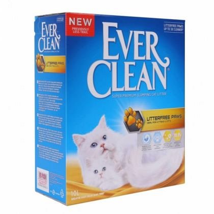 Nisip litiera, Ever Clean, Litterfree Paws, 6L