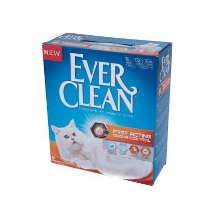 Nisip litiera, Ever Clean Fast Acting, ideal pentru spa?ii mici, 6L