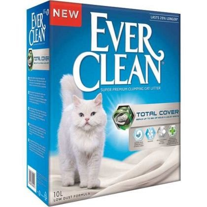 Nisip litiera, Ever Clean, Total Cover, 6L