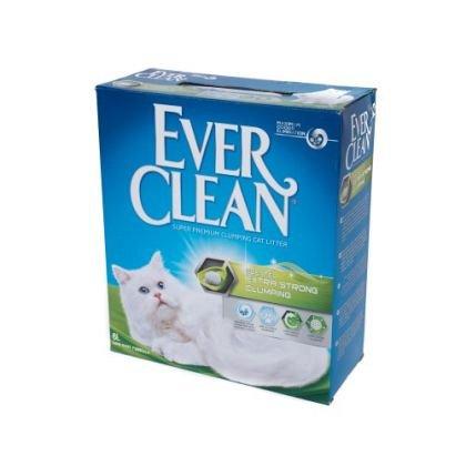 Nisip litiera, Ever Clean Extra Strong, Clumping Parfumat, 10L