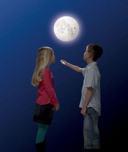 Set STEM - Modelul Lunii cu telecomanda, Brainstorm, 6 ani+