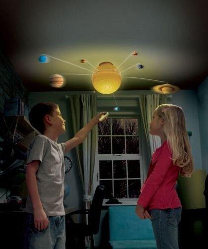 Sistem solar cu telecomanda, Brainstorm, 6 ani+