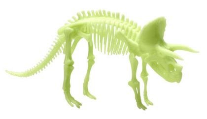 Schelet Triceratops reflectorizant, Brainstorm, 6 ani+