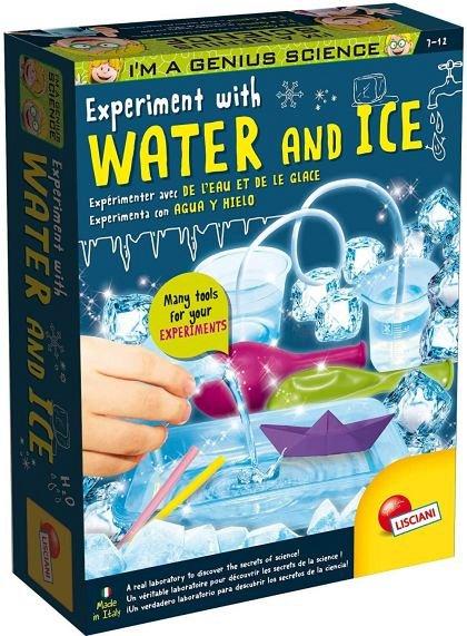 Experimentele micului geniu - Apa si gheata, Lisciani, 7 ani+
