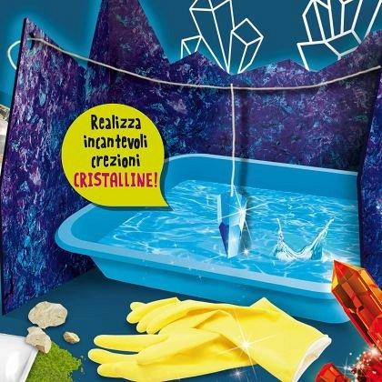 Experimentele micului geniu - Cristale magice, Lisciani, 8 ani+
