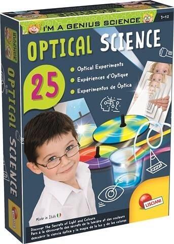 Experimentele micului geniu - Secretele opticii, Lisciani, 7 ani+