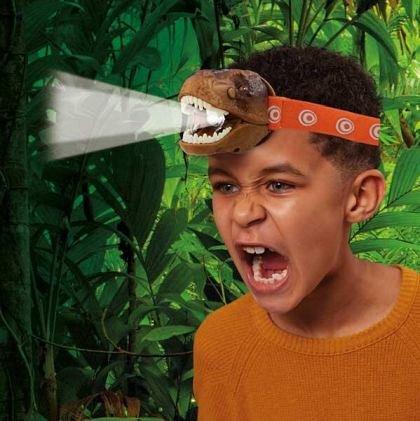 Lanterna de cap T-Rex, Brainstorm, 3 ani+