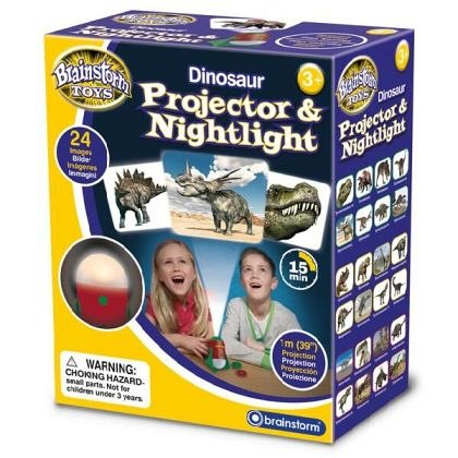 Proiector 2 in 1 - Dinozauri, Brainstorm, 3 ani+