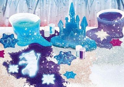 Set experimente Frozen 2 - Slime de cristal, Lisciani, 5 ani+