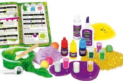 Experimente geniale - Laboratorul de slime, Lisciani, 8 ani+
