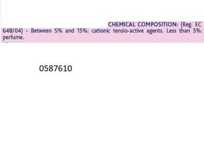 Chicco, Balsam de rufe, Delicate Flowers, concentrat, 750ml, 0luni+